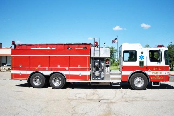 Fire truck engine 5512