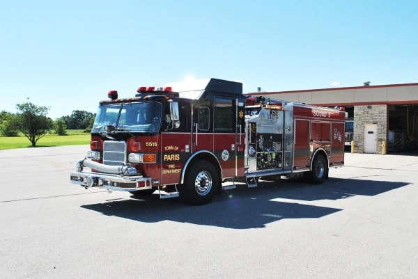 Fire truck engine 5515