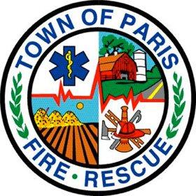 Town of Paris Fire & Rescue patch